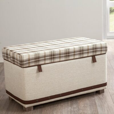 Hocker Plaid