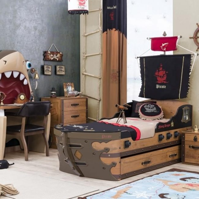 Pirate Kinderzimmer-Set