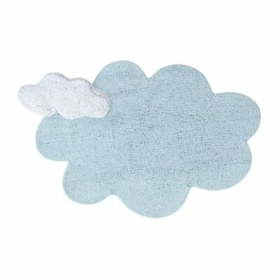 Lorena Canals Kinderteppich Puffy Dream Blau