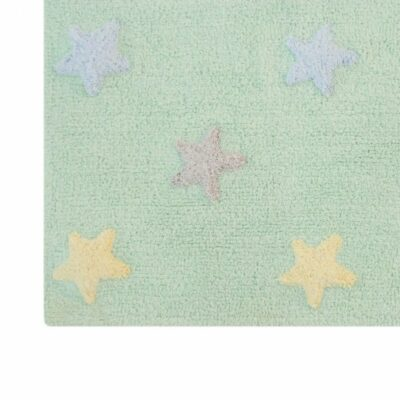 Lorena Canals Kinderteppich soft mint 2